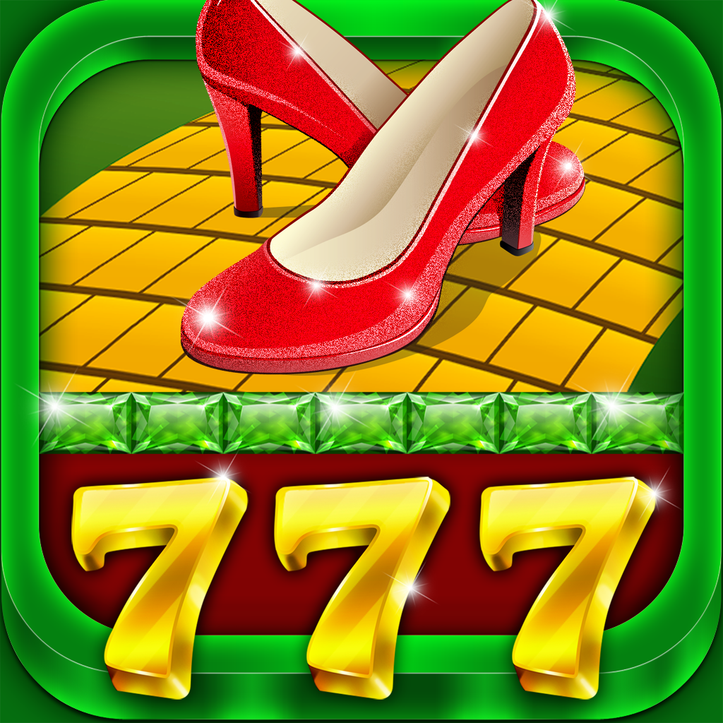 A Emeralds of Oz Casino Slots Game with Lucky Wizard Bonus for Free